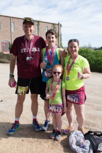 At the Messina Hof Winery 5K in Bryan/College Station, TX